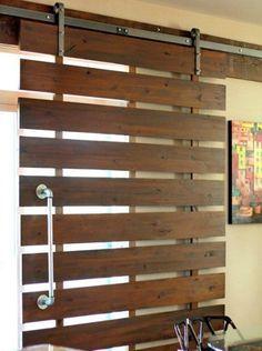 puertas de palet  #mueblesconpalets #palletwood #recicled