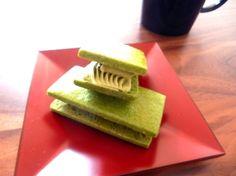 green tea butter sandwich