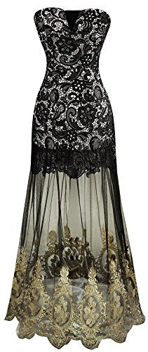 Angel-fashions Women's Strapless Lace Embroidery See-through Lace up Black Dress XLarge Angel-fashions http://www.amazon.com/dp/B00WDZND4A/ref=cm_sw_r_pi_dp_-EM6vb1SM9VM7