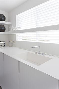 Integrated Corian Sink By Liedssen