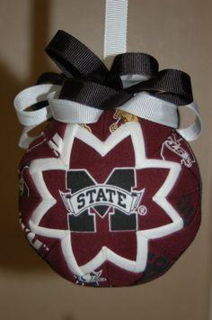 NCAA Mississippi State Bulldogs Shatterproof Ornament