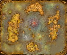 Azeroth. One of the many fantasy worlds that has been a huge inspiration over the years.
