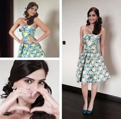 Fashion First for Sonam Kapoor