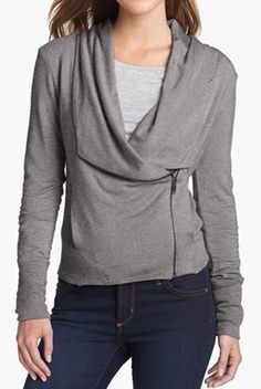 Side zip cardigan http://rstyle.me/n/nyibrnyg6