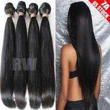100% Unprocessed Brazilian Peruvian Indian Virgin Human Hair 7A 300g 3 bundle C7