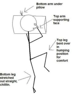 Who else sleeps like this?