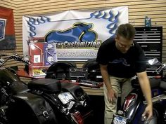 Motorcycle Economy Saddlebags - Do it Yourself - Video Guide: Tip of the...