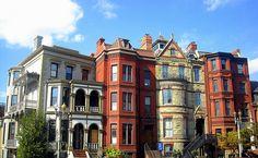 DC's Logan Circle; I'm a big Victorian row house lover~