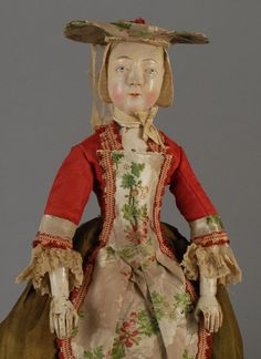 Flemish Wooden, circa 1740 doll