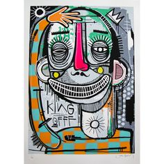 Joachim - King of Clowns Print | GraffitiStreet.com