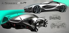 Mercedes Benz XLR concept on Behance