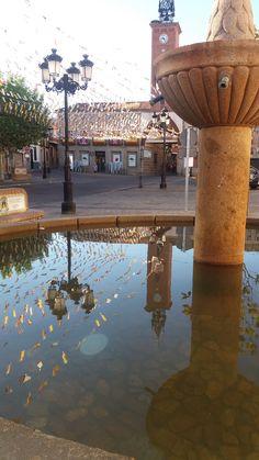Fuente en Oropesa (Toledo).