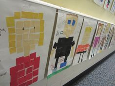 I Want to be a Super Teacher: Perimeter, Area and Fraction Math Mosaics