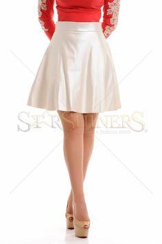LaDonna Coolest Desire Nude Skirt