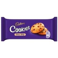 Enjoy a chocolatey treat with these delicious Cadbury Choc Chip Cookies. Perfect as a lunchtime snack, or with a hot cup of tea. - B&M Stores. Cadbury Cookies, British Sweets, Cadbury Chocolate, Pudding Cake, Chip Cookies, Food And Drink, Chips, Favorite Recipes, Shopping