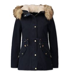 Parka dans bleu foncé Winter Love, Winter Fits, Fall Winter Outfits, Winter Fashion, Duffle Coat, Canada Goose Jackets, Bedrooms, Winter Jackets, Lily