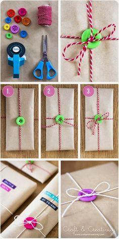KARÁCSONYI DEKORÁCIÓK: Különleges karácsonyi csomagoló papírok
