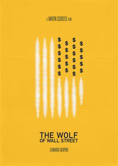 The Wolf of Wall Street. Poster by Daniel Devoy