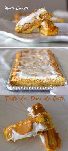 Torta de Doce de Leite - Monta Encanta