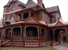 """""""The Charles Hackley house in Muskegon, Michigan. Probably Hopkins finest. Hackley was the richest man in Michigan at the time he built this house. He was worth 12 million in the 1880's"""