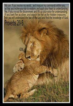 Proverbs 2:1-5