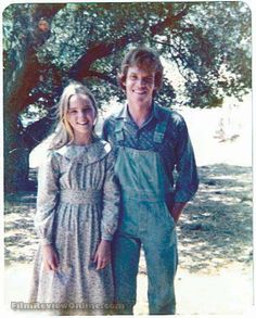 Little House on the Prairie – Star Melissa Sue Anderson as Mary Ingalls and Mitch Vogel as Johnny Johnson