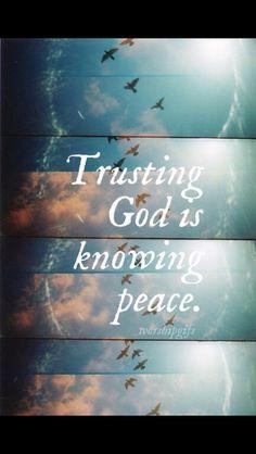 ❥ Know God, know peace