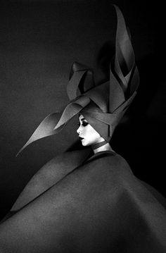 #editorial #fashion #black #head