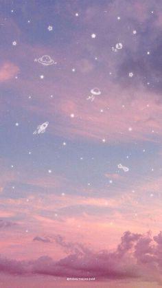 53 Ideas Aesthetics Pastel Wallpaper Ipad for 2019 - make-up life - # aesthetic . - 53 Ideas Aesthetics Pastel Ipad Wallpaper for 2019 – make-up life – # aesthetic - Pastell Wallpaper, Phone Wallpaper Pastel, Galaxy Wallpaper Iphone, Night Sky Wallpaper, Homescreen Wallpaper, Scenery Wallpaper, Iphone Background Wallpaper, Aesthetic Pastel Wallpaper, Kawaii Wallpaper