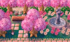 "acnl-mayor-ana: ""Changeeees "" - New Ideas Animal Crossing Qr, Acnl Paths, Motif Acnl, Ac New Leaf, Moon Pictures, Cute Games, Kawaii, Animal Games, Landscape Pictures"