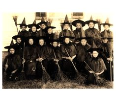 Vintage class of witches