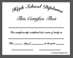 Free printable high school diploma template huge collection of high download homeschool high school diploma templates yadclub Gallery