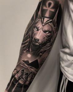 Carismático Login Likes, 22 Comments - ⚜️ ᴛᴀᴛᴛᴏᴏ ᴀʀᴛ. Egyptian Eye Tattoos, Egyptian Tattoo Sleeve, Wolf Tattoo Sleeve, Forearm Sleeve Tattoos, Best Sleeve Tattoos, Forearm Tattoo Men, Tattoo Sleeve Designs, Realistic Tattoo Sleeve, Anubis Tattoo