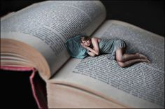 Pretty much what we all want to do with a good book :) Snuggle up in bed with one of our books. Check out our selection at http://richerresourcespublications.com