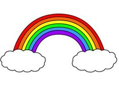 How to Draw a Cartoon Rainbow - How to Draw Cartoons Rainbow Drawing, Cloud Drawing, Rainbow Painting, Rainbow Art, Rainbow Colors, Rainbow Stuff, Cartoon Pics, Cartoon Drawings, Easy Drawings