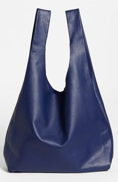 Baggu® 'Medium' Leather Shoulder Bag