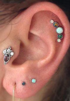 #piercings #earpiercings