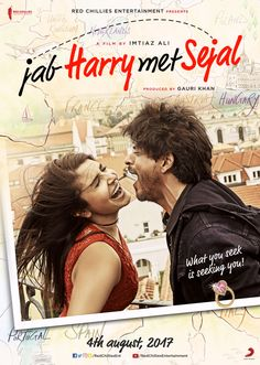 Jab Harry Met Sejal mini trailer 4 is here: Watch Anushka and Shahrukh in a funny avatar Srk Movies, Imdb Movies, Bollywood Cinema, Bollywood Songs, Indian Bollywood, Movies To Watch Online, Full Movies Download, Movie Downloads, Film Review