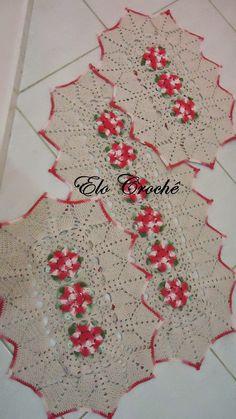 Elo Crochê by Eloiza Castro: Jogos de Tapetes de Crochê para Cozinha