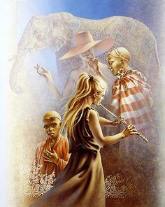 Detail: Masai Mara Melody, Marion van Nieuwpoort & Poen de Wijs