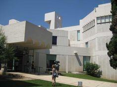 Fundacio Miro Montjuïc berg Barcelona Josep Lluis Sert
