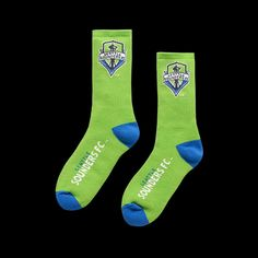 Seattle Sounders FC Athletic Socks d56752976e219