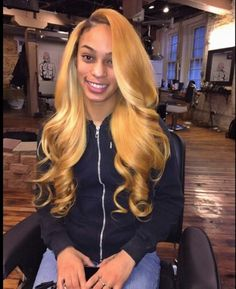"Affordable luxury 100% virgin hair starting at $65/bundle in the USA. Achieve this look with our luxury line of Blonde #613 Peruvian Body Wave hair extensions, available in lengths 12"" - 28"". www.vipextensionbar.com email info@vipextensionbar.com"