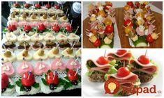 Pohostenie máte vybavené v momente: 21 nápadov na rýchle a chutné jednohubky, ktoré budú ozdobou každého stola!