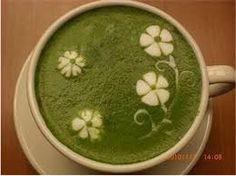 hot matcha green tea