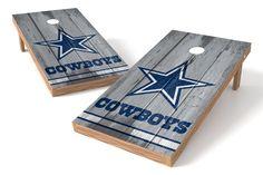 Dallas Cowboys Cornhole Board Set- Vintage http://prolinetailgating.com