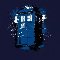 Doctor Who inspired t-shirt Ink Box by OtakuTeez on sale until may 7th http://aplentee.com/p/8005/ink-box