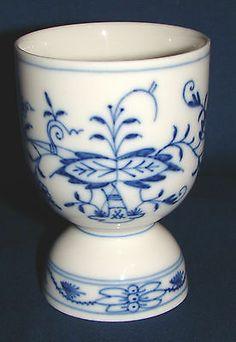 Meissen Blue Onion Double Egg Cup