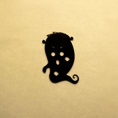 Helloween Ghost Type 1 Embellishment 3mm Acrylic by LaserVinylArts on Etsy
