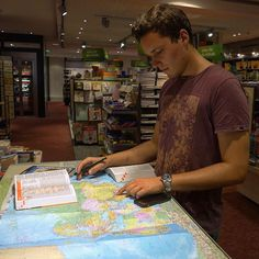 Planning our route through Asia: from Cambodia 🇰🇭 to Nepal 🇳🇵 #travelpreparation #travelplans #mapyourworld #worldtravel #worldmap #cambodia #nepal #routeplanning #guidebooks #libraryfun